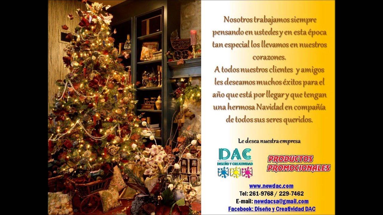 Dac Saludo De Navidad Para Clientes Y Amigos