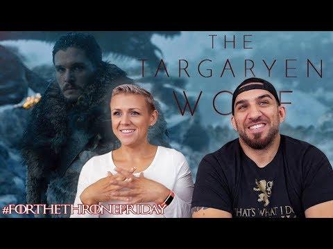 Jon Snow - The Targaryen Wolf - Game of Thrones REACTION!! - 동영상