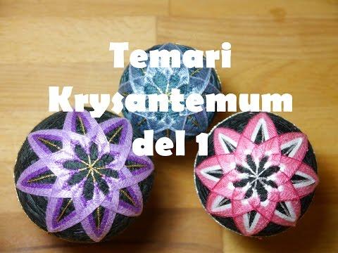 Temari Krysantemum Del 1