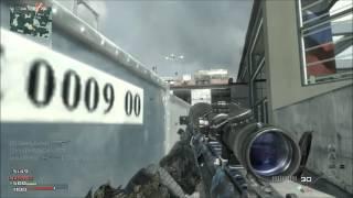 MW3 Sniper Quickscope Gameplay