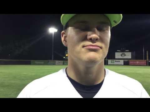 Worcester Bravehearts Clayton Dostal Post Game 6/16/15