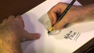 Drawing Techniques : How to Draw Famous People As Cartoons