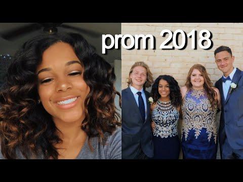 PROM 2018: GRWM   Azlia Williams