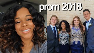 PROM 2018: GRWM | Azlia Williams