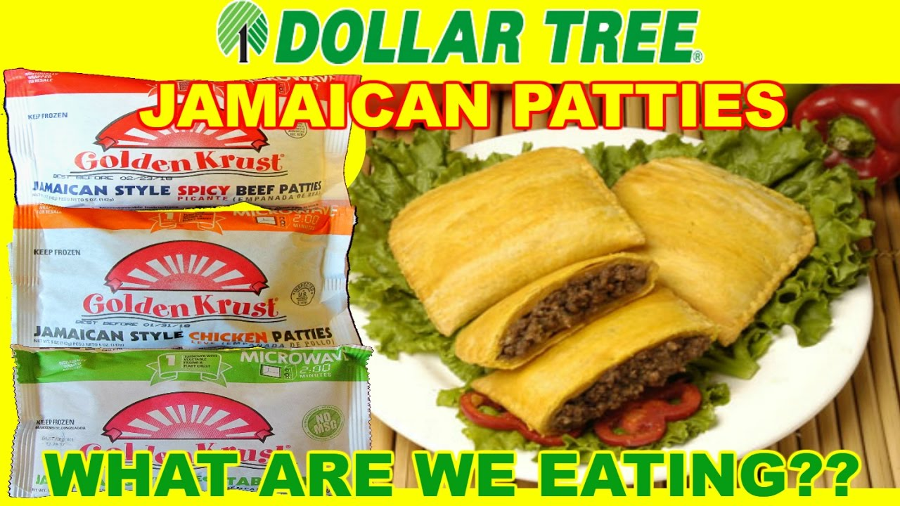 Dollar Tree One Jamaican Patties