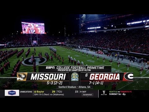 2019 Missouri At #6 Georgia