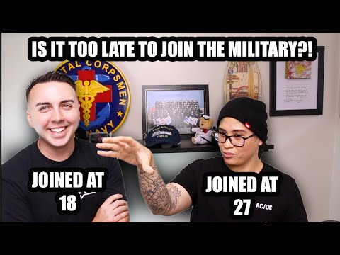 BEST AGE TO JOIN THE MILITARY?! (2019)