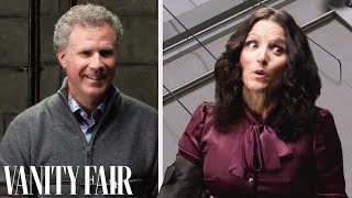 Julia Louis-Dreyfus & Will Ferrell Take a Lie Detector Test | Vanity Fair