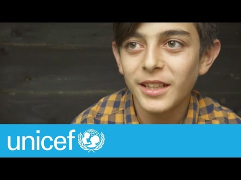 """We are people just like you"" - Mustafa, 14, one year later 