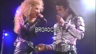 Michael Jackson - I Just Can't Stop Loving You Live In Rome 1988