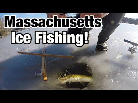 Massachusetts Ice Fishing! (December 2019)