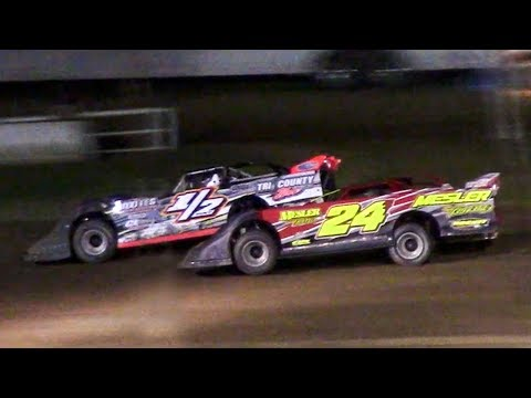 RUSH Crate Late Model Feature | McKean County Family Raceway | 7-3-18