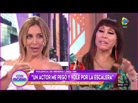 Patricia Viggiano contó que un actor la empujó contra una escalera porque se negó a acostarse con él