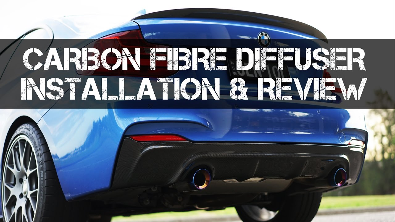 How To Install A Rear Diffuser On M235i M240i F22 Youtube