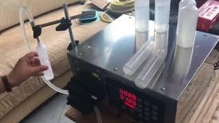 Semi automatic filling machine 50ml bottle