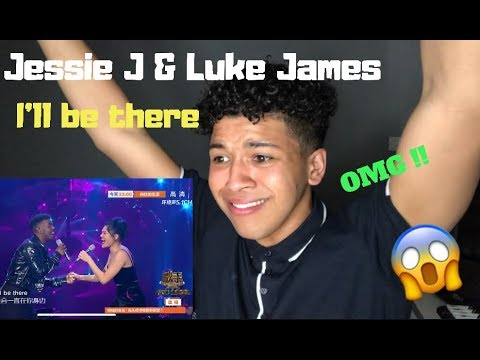 Jessie J & Luke James - I'll Be There| Singer 2018| MY REACTION