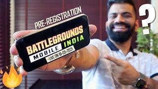 Battregrounds Mobile India Pre-registrasie met spesiale belonings🔥🔥🔥