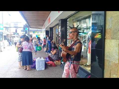 Artista punk rock callejero chile temucho