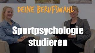 Berufswahl: Sportpsyschologie studieren | Studium Sportpsychologie | #28