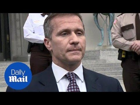 Criminal charge dropped against Missouri Governor Eric Greitens - Daily Mail