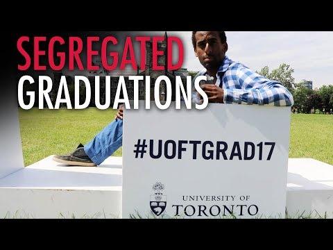 Embracing Segregation at University Graduation