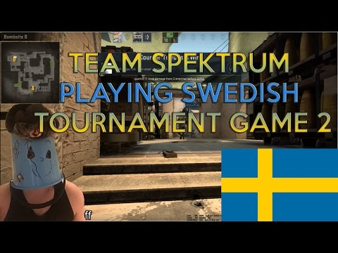 TEAM SPEKTRUM PLAYING SWEDISH TOURNAMENT GAME 2
