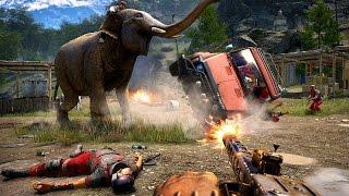 Far Cry 4 - Gameplay-Trailer zeigt die irre Spielwelt und ihre Bewohner