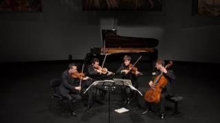 The Quatuor Ebène plays Beethoven Quartett Op. 130 with the Fuge