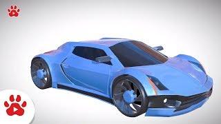 Volkswagen Beetle Buggy Zenvo | Super Cars for Kids | #h Colour Song for Kids