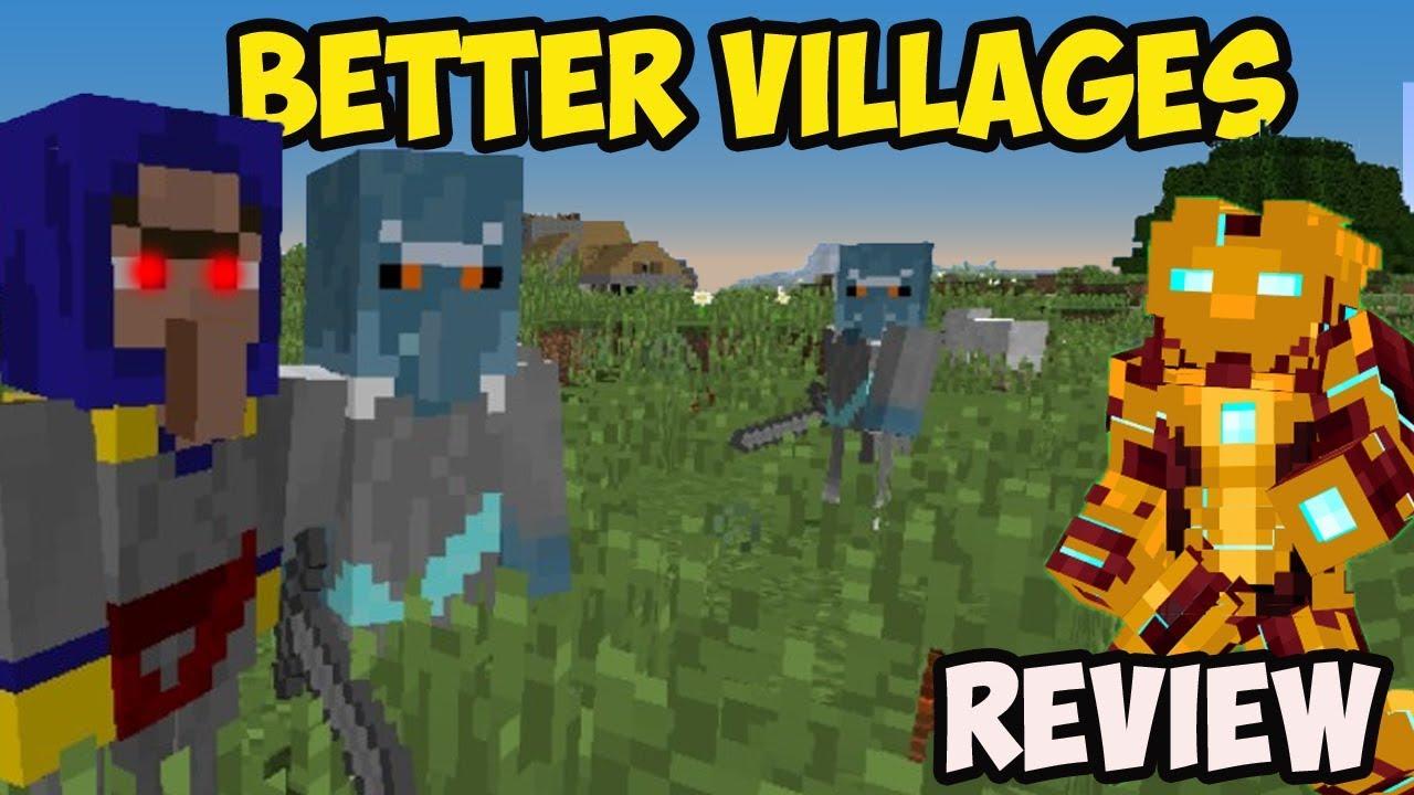 Minecraft Mo Villages Mod 112 - Allawn