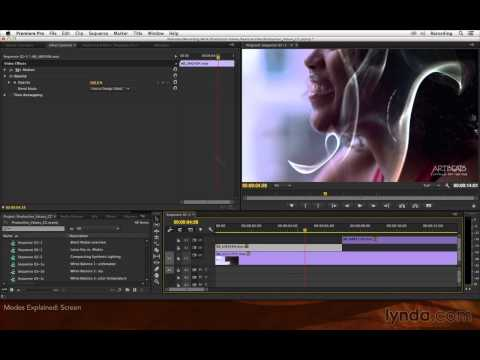 Premiere Pro and After Effects-Blending Modes Overview:Modes explained