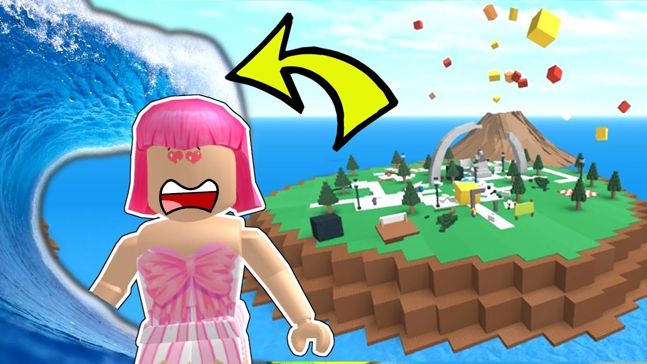 roblox survive the disasters disaster island