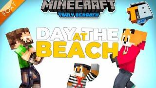 DAY AT THE BEACH | Truly Bedrock Season 2 [67] | Minecraft Bedrock Edition