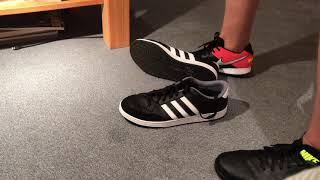 Trampling my adidas neo using my nike tiempox