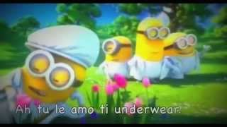 Minions - I Swear ( FULL VERSION ) with lyrics AKA KARAOKE