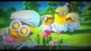 Minions - I Swear ( FULL VERSION ) with lyrics AKA KARAOKE