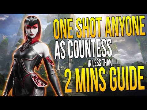 How to ONE SHOT ANYONE in Paragon as COUNTESS in less than 2 mins (GUIDE)