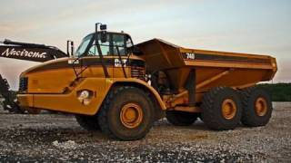 Cat 740 walk around