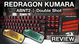 Redragon Kumara ABNT2 (K552)   Teclado mecânico com teclas double shot, switches Outemu
