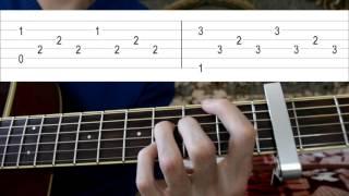 Как играть Apologize на гитаре. Видеоурок