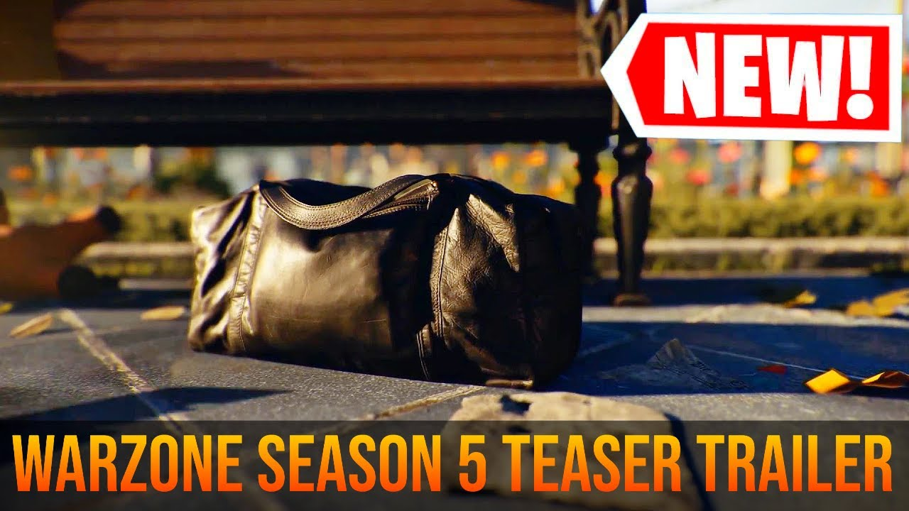 Call of Duty WARZONE: SEASON 5 TEASER TRAILER   COLD WAR WARZONE UPDATE
