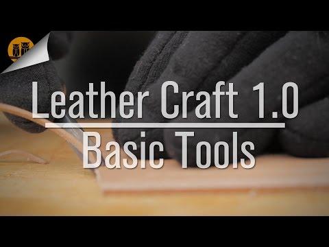 Leather Craft 1.0 • Basic Tools