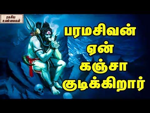 பரமசிவன் ஏன் கஞ்சா குடிக்கிறார் || Why Does Lord Shiva Smoke Up Weed? || Unknown Facts In Tamil