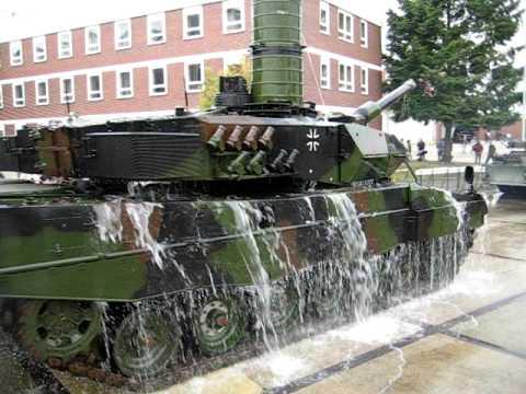 leopard panzer wtd41 tauchvorf hrung 2005 youtube. Black Bedroom Furniture Sets. Home Design Ideas