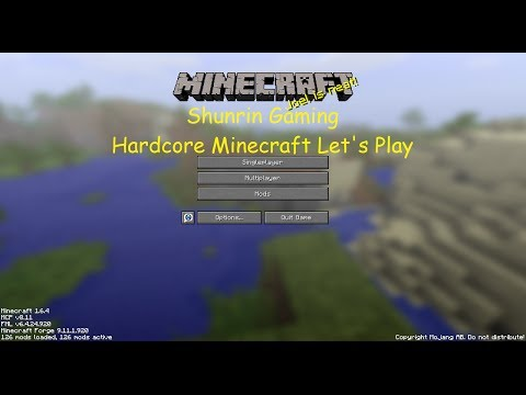 Hardcore Minecraft 1.6.4 - Attempt 1 Episode 11 - Poop and Trees!