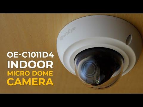 Introducing the OpenEye OE-C1011D4 Micro Dome Camera