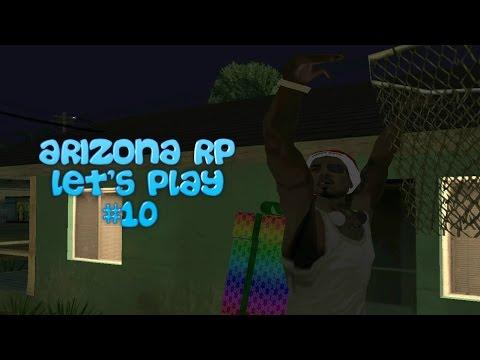 [SAMP] Let's Play - Новогодние квесты #10 [Arizona RP Chandler]