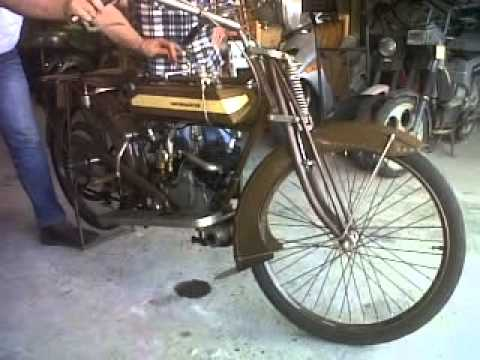 Motosacoche 500cc V-twin year 1913,Amazing!!
