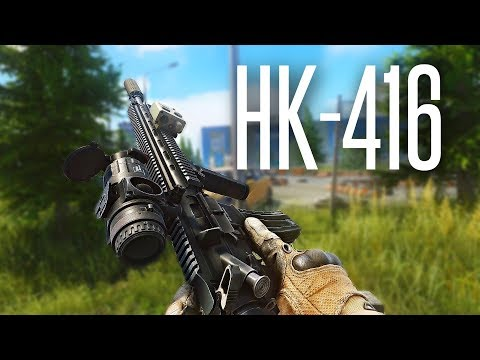 THE HK-416 IS AMAZING - Escape From Tarkov Gameplay