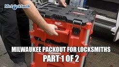 Milwaukee Packout for Locksmiths Part 1 of 2 | Mr. Locksmith
